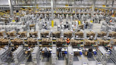 Amazon-Logistikzentrum Leipzig