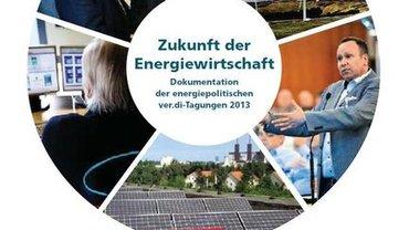 Bild von der Broschüre Zukunft derEnergiewirtschaftDokumentationder energiepolitischenver.di-Tagungen 2013