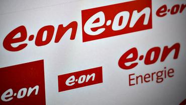 Logo des Energiekonzerns E.ON