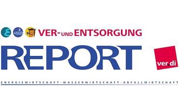 Header / Logo der Fachbereichszeitung: Report