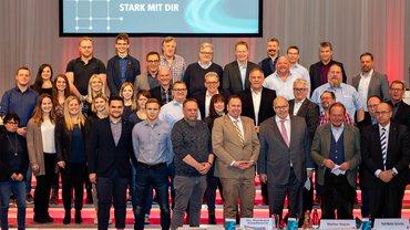 Gruppenfoto mit den Teilnehmenden der energie- und tarifpolitischen Arbeitstagung 2019