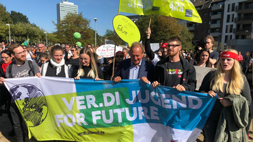 Ver.di Jugend bei Fridays for Future