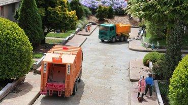Müllwagen Abfall Entsorgung Abfallwirtschaft