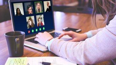 Videokonferenz, Online, Meeting, Skype, Zoom